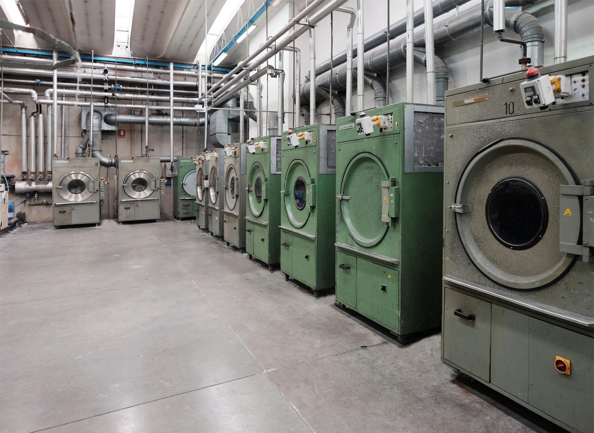 Tergotex nasce nel 1956 per trasformarsi poi in un'industria moderna
